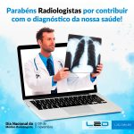 Parabéns Radiologistas!