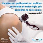 Parabéns Dermatologistas