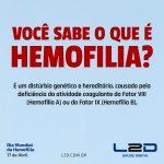 Você sabe o que é Hemofilia?
